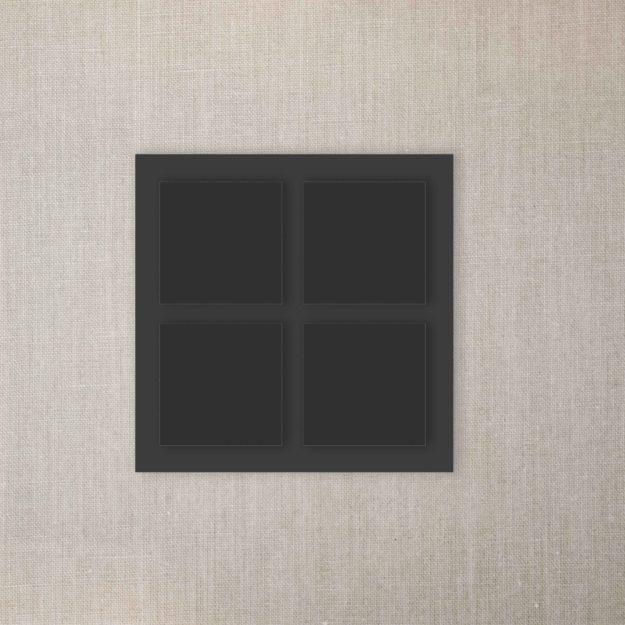 Rahmen 4 Fotos schwarz scaled