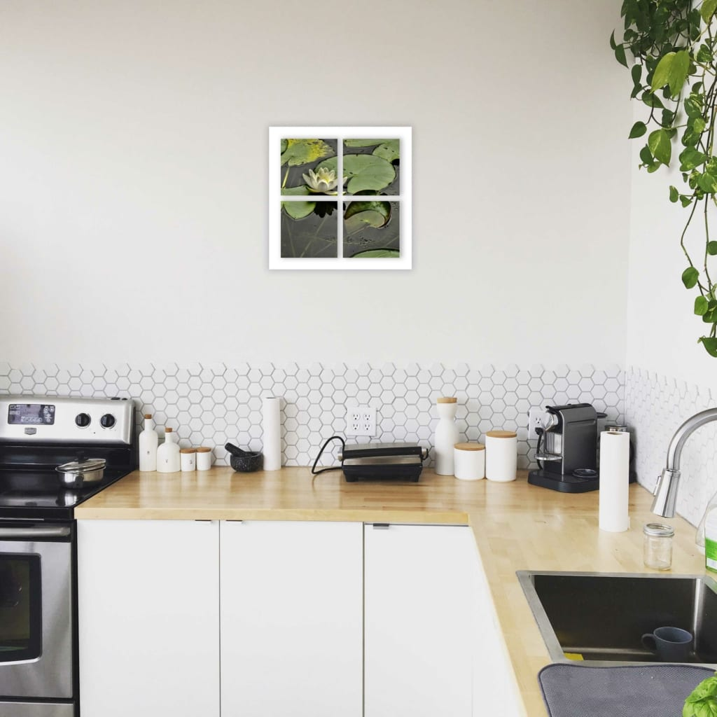 kitchen nenuphare blanc 4